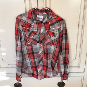 "Vintage Plaid ""Two East"" Button Down"
